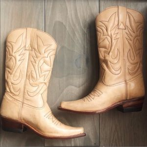 Shoes - Hand Made Leather Cowboy Boots
